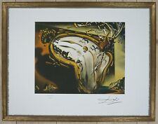 "Salvador Dali ""Montre molle au moment"" Lithograph Limited 2000 pcs."