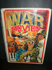 "Vintage 1974 HOLLYWOOD ""WAR MOVIES"" CASTLE BOOKS~PHOTOS, POSTERS, ILLUSTRATION"