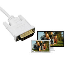 6FT Mini Display Port DP Male to DVI Male Adapter Cable Cord for MacBook Well