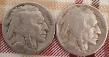 Lot of 2 Buffalo Nickels 1926 P & 1929 P - G-F - Great Coins!!!