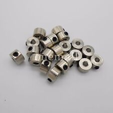 20PCS X 3.05 mm Metal Bushing axle Stainless shaft sleeve w/ screw For 3mm motor