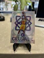 Kobe Bryant / 2016-17 Crusade Silver Prizm Refractor #88 Lakers Mamba