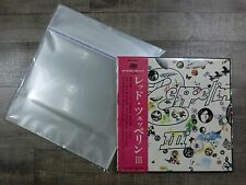 200 pcs 12' LP LD Outer Sleeves FROG-RECORDS Original Made in Japan AA0022