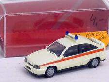 Opel Kadett GSI emergencias en crema con embalaje original, sin usar, Herpa, 1:87