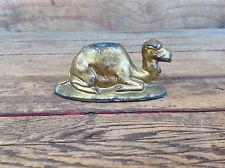 Vintage Sitting Camel Match Stick Holder