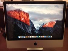 "Apple iMac A1225 3.06GHz 24"" 4GB 1TB HDD Core 2 Duo El Capitan See Description"