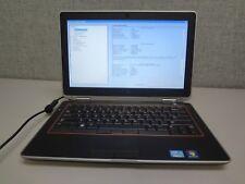 "Dell E6320 13.3"" Core i7 2.8GHz 4GB/160GB Webcam Linux Laptop ""No Battery"" + AC"