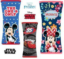 Disney Soft plush Baby Car Seat Belt Cover Cars Frozen Mickey comfort travel