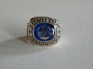 Purdential Sterling Silver Ring of Champions Ring Sz 10.25 10.5