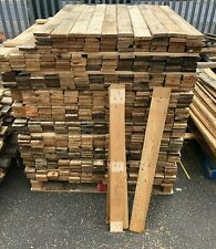 20 x Reclaimed Pallet Boards - 2m² Rustic Wood Planks Timber Slats Projects Bar