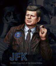1/10 Scale Resin Bust John F. Kennedy Historical Figure Model Kit Free Shipping