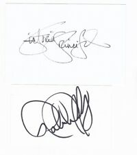 DALLAS signed autographs - Victoria Principal, Patrick Duffy