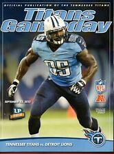 NFL: Gameday Tennessee Titans Vs Detroit Lions September 23, 2012