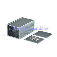 2X 80*50*40mm Extruded aluminum electronic power enclosure PCB Box Case Project