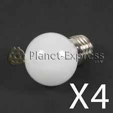 4 x Bombilla 1W LED E27 Blanco Calido 220V 90 lumen Decoración ambiente SMD 3014