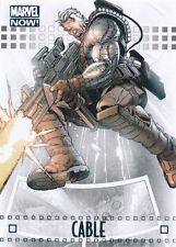 #17 CABLE 2014 Upper Deck Marvel NOW SILVER FOIL X-FORCE
