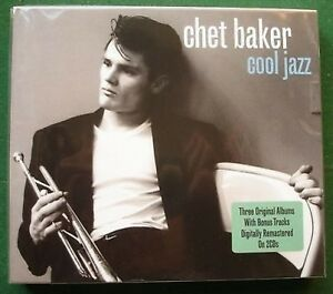 Chet Baker Cool Jazz 3 Albums New Mint Sealed CD x 2