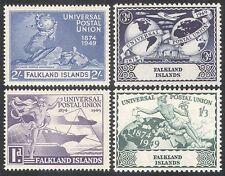 Falklands 1949 Universal Postal Union/UPU/Ship/Plane/Statue/Transport 4v n39820