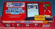1992 MAGIC JOHNSON Los Angeles L.A. Lakers -FREE s/h Headline Starting Lineup NM