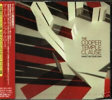 The Cooper Temple Clause Make This Your Own Japan CD+2BONUS - NEW