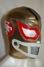 SAN FRANCISCO 49ers WRESTLING-LUCHADOR MASK!!! Support Your Team as a LUCHADOR!!