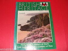 British Heritage Magazine June July 1983 Hong Kong, Darts, Pens, Lord Asquith