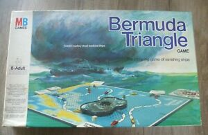 Bermuda Triangle Board Game (MB Games1976) Complete Good Condition
