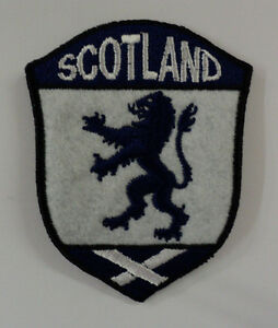 Scotland embroided badge / IRON ON patch
