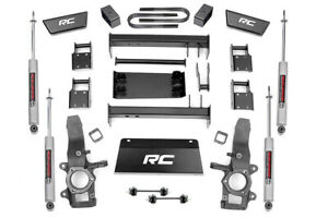 Rough Country 5in Suspension Lift Kit fits Ford F150 1997-2003 4WD