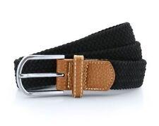Cinturones de hombre en color principal rojo de piel