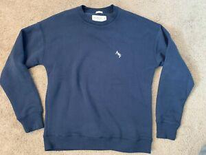 New Men's Abercrombie & Fitch crewneck sweatshirt size medium