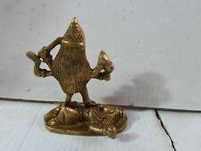 Kaali SMALL Brass Hand carved Statue Shiva Durga Kali Maa Hindu Goddess 3 INCH