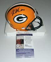 PACKERS Kenny Clark signed mini helmet w/ #97 JSA COA AUTO Autographed STAR DL