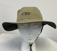 Outdoor Research Kids Sun Hat MEDIUM Sandbox UPF 50 Hiking Fishing KHAKI - NWT