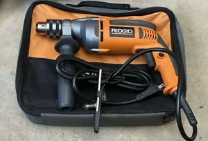 Ridgid R7111 1/2'' (13mm) Corded Electric Drill NEW W/CASE HEAVY DUTY Reversible