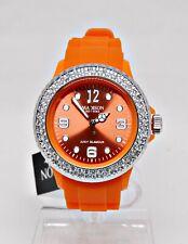 Madison New York Damenuhr JUICY Orange SWAROVSKI Steine Citizen Werk 69,90€ Neu