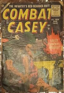 Combat Casey #22 comic book 1955 Golden Age War Atlas Russ Heath Robert Sale