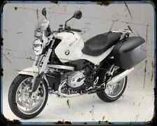 Bmw R 1200R Touring Special A4 Metal Sign Motorbike Vintage Aged