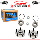 Trq Front Wheel Bearing Hub Kit With Snap Ring Nut Lh Rh Pair Fits Edge Mkx