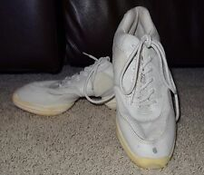 Hip Hop Dance Team Sneakers Shoes White Jazz Cheer Athletic Women's Size 8.5 SB