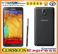 SAMSUNG GALAXY NOTE 3 N9005 4G 32GB NEGRO LIBRE TELEFONO MOVIL SMARTPHONE NUEVO