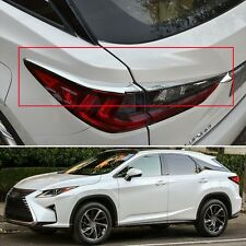 Chrome Rear lamp Tail Light Cover Trim Fit for Lexus RX350 / RX450h 2016