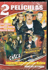 Chicas En Peligro / El Tigre Murrieta DVD NEW 2 Pk Factory Sealed!