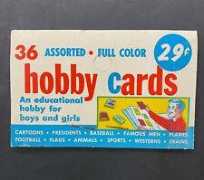 1962 Topps Civil War News Rack Pack Header Card