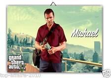 1 Cadre / Tableau Décoratif  Grand Theft Auto  GTA 5 - G139