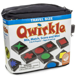 Travel Size Qwirkle Logic and Strategy Family Game