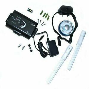 Electronic Dog Pet Fencing System Speed Detect Training Flags Boundary wire 985`