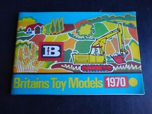 1970 Britains Toy Models Catalog - Land Rover - Soldiers - Cowboys & Indians