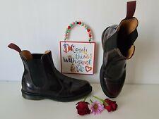 Dr Doc Martens chelsea floras shoes arcadia cherry red boots UK 6.5 EU 40 US 8.5