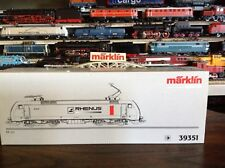 """Marklin HO 39351 """"Rhenus"""" Electro Dispo Loco BR 152 Excellent/ LN"""
